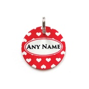 Ditsy Pet - Love Pet ID Tag