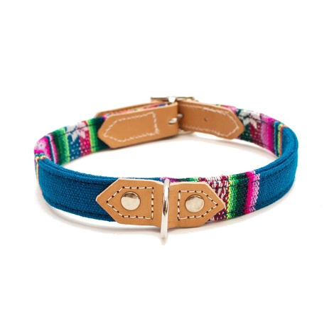 Blue INCA Dog Collar 2