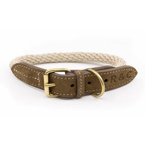 Rope collar (Braided) - Ivory