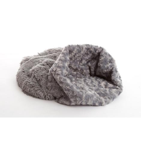 Pooch Pod Dog Bed - Silver 3