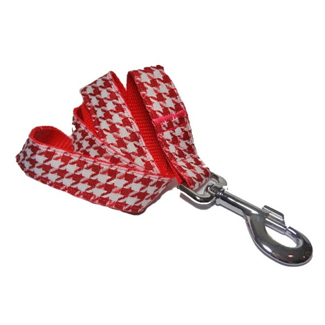 Houndstooth Dog Lead