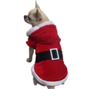 NFP - Santa Cape Style Dog Outfit