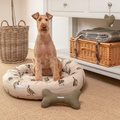 Grouse Linen Donut Bed 5