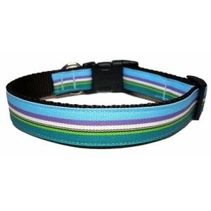 Ocean Stripe Dog Collar
