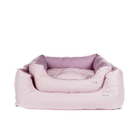 Teddy Maximus Pink Slumber Dog Bed 3
