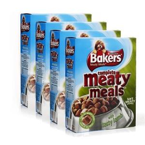 Meaty Meals Lamb Dog Food x 4