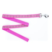 Pet Pooch Boutique - Pink Burberry Plaid Dog Lead