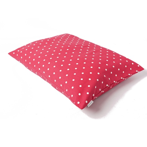 Cotton Top Day Bed - Dotty Raspberry 2