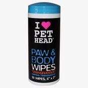 Pet Head - PET HEAD Paw & Body Wipes
