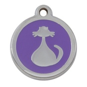 Tagiffany - My Sweetie Lilac Cat Pet ID Tag