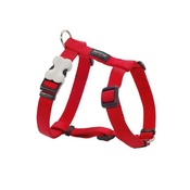 Red Dingo - Plain Dog Harness - Red