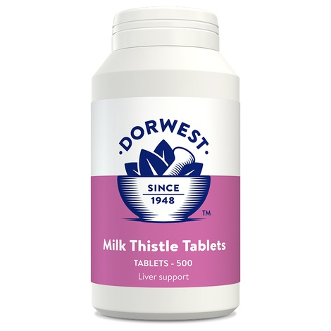 Milk Thistle Tablets for Dogs and Cats 3