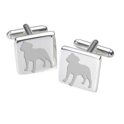 Cufflinks - Staffordshire Bull Terrier