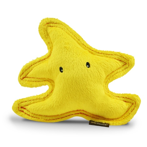 Starfish Plush Squeaky Dog Toy