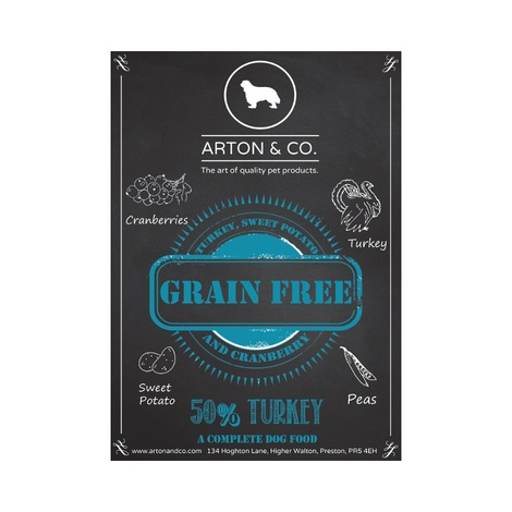 Turkey, Sweet Potato & Cranberry Complete Dog Food