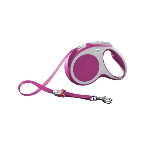 VARIO Medium Retractable Lead 5m - Pink