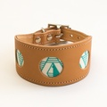 Geo Green Hound Collar