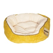 Happy Pet - Sweet Dreams Donut Pet Bed – Yellow