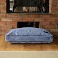 Luxury Corduroy Dog Bed – Bluebell