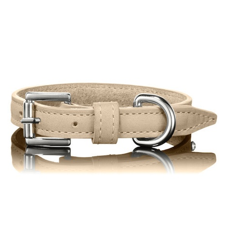 Tan Swarovski Dog Collar 2