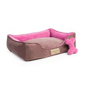 Bowl&Bone Republic - Classic Dog Bed - Pink