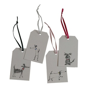 Set of Four Gift Tags