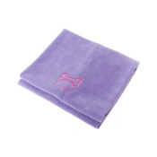 PetsPyjamas - Personalised Lilac Bone Dog Blanket - Classic font