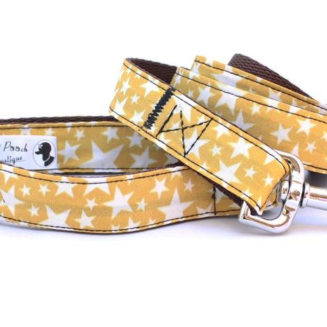 Mustard Yellow Stars Collar 2