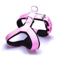 4cm Width Fleece Comfort Dog Harness – Baby Pink