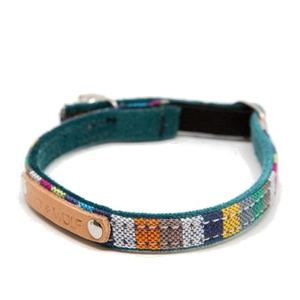 Kikoy Marine Stripe Cat Collar