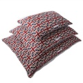 Union Jack Linen Pillow Dog Bed