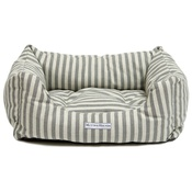 Mutts & Hounds - Flint Stripe Brushed Cotton Boxy Bed