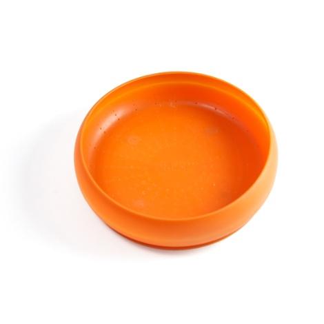 ThrowBowl Frisbee Water Bowl - Orange 2