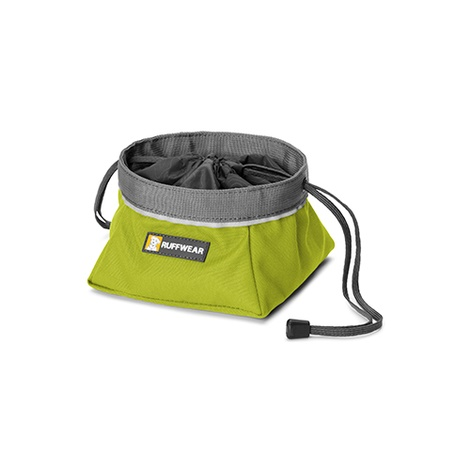 Ruffwear Quencher Cinch Top Bowl - Forest Green 2