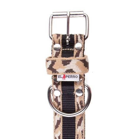 Camouflage Kennel Dog Collar - Safari 2