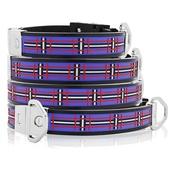 Cool Dog Club - Cool Dog K9 Striker MK2 Tartan Blue Dog Collar