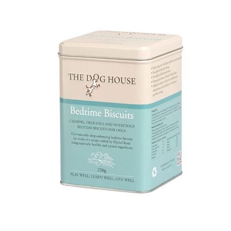 Bedtime Dog Biscuits in Treat Tin