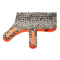 Personalised Classic Leopard Print Dog Coat 2