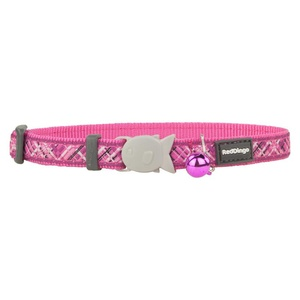 Flanno Cat Collar – Hot Pink