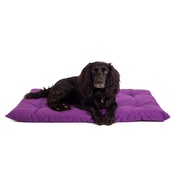 The Lounging Hound - Plain Dog Roll Bed - Violet