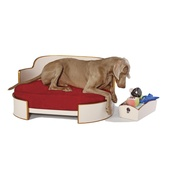 Katalin zu Windischgraetz - All-Round Beige & Copper Dog Sofa