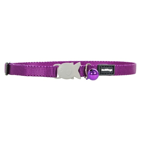 Plain Purple Kitten Collar