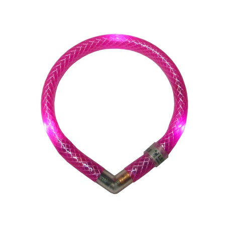 Leuchtie Mini LED Collar - Pink