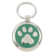 Tagiffany - Smarties Green Paw Pet ID Tag