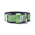 2.5cm width Fleece Comfort Dog Collar – Lime