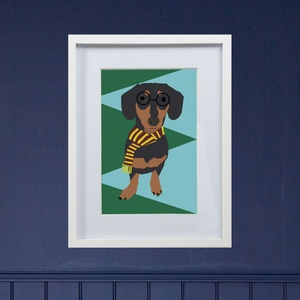 Framed Bespoke Pet Portrait