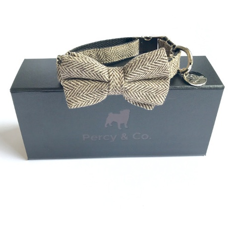 Beaufort Bow Tie Dog Collar  2
