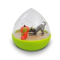 Wobble Ball Interactive Treat Toy - Green