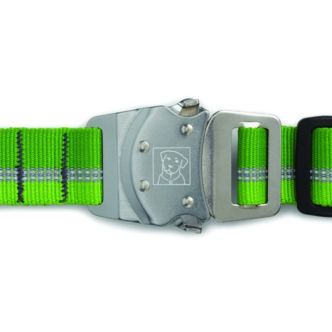 Top Rope Dog Collar - Meadow Green  2