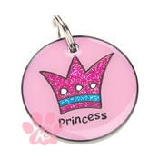 K9 - K9 Princess Dog ID Tag